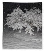 Snow White Tree Fleece Blanket