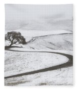 Snow Without You Fleece Blanket