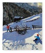 Snowballers Fleece Blanket