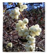 Snowberries Fleece Blanket