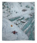 Snowbird Steeps Fleece Blanket