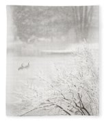 Snowbirds 2 Fleece Blanket