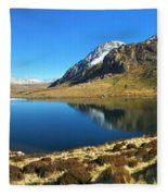 Snowdonia Panorama Fleece Blanket