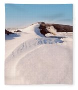 Snowdrift  Fleece Blanket