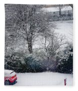 Snowfall 1 Fleece Blanket