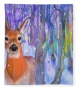 Snowfall Fleece Blanket