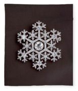 snowflake II Fleece Blanket