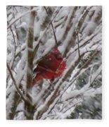 Snowing Fleece Blanket