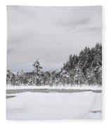 Snowscape Fleece Blanket