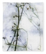 Snowstalks Fleece Blanket