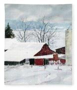 Snowstorm Fleece Blanket