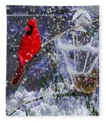 Snowstrom Fleece Blanket