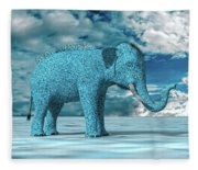 So Blue Without You Fleece Blanket