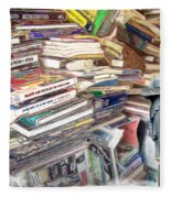 So Many Books To Read Fleece Blanket