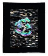 Soap Bubble Mania #1 Fleece Blanket