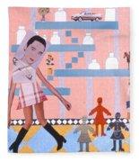 Soap Scene #16 Miracle Maids Fleece Blanket