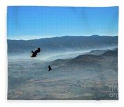 Soaring Ravens Fleece Blanket
