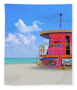 Sobe Lifeguard Fleece Blanket