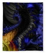 Social Classes Fleece Blanket