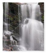 Soco Falls North Carolina Fleece Blanket