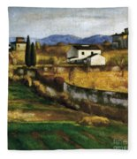 Soffici: Hill, 1922 Fleece Blanket