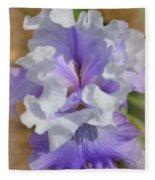 Soft Iris Fleece Blanket