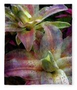 Soft Lilies 3637 Idp_2 Fleece Blanket