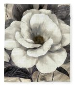 Soft Petals I Fleece Blanket