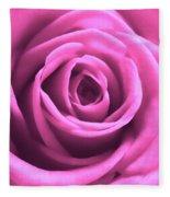 Soft Touch Pink Rose Fleece Blanket