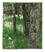 Soft Trees Fleece Blanket