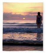 Soft Waves Fleece Blanket