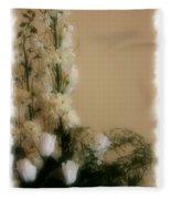 Soft Whites Fleece Blanket