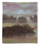 Softly Spoken Fleece Blanket