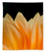 Softness Of The Petals Fleece Blanket