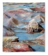 Sol De Manana In Bolivia Fleece Blanket