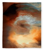 Solar Eruption Fleece Blanket