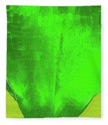 Solar Green Fleece Blanket