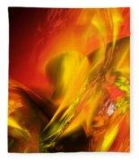 Solar Storm Fleece Blanket