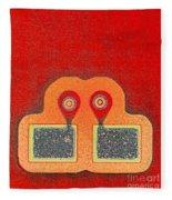 Soldered Connections Fleece Blanket
