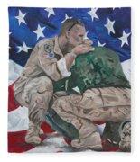 Soldiers Fleece Blanket