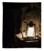 Solitary Light Fleece Blanket
