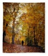 Solitary Man Fleece Blanket