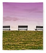 Solitude Fleece Blanket