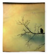 Solitude Mood Fleece Blanket