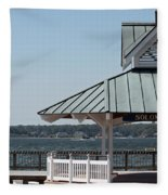Solomons Island - Welcome Fleece Blanket