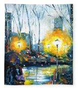Solstice In The City, Vol.1 Fleece Blanket