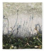 Some Peoples Weeds Fleece Blanket