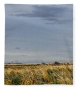 Something About Wind And Sun. Fleece Blanket