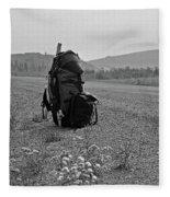 Somewhere In Nowhere ... Fleece Blanket