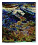 Song Of Love And Compassion Fleece Blanket